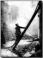 Firefighters in Verdun
